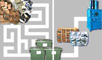 Logistic is an important part of the cost of waste handling